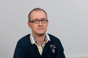 Dr. Andreas Huber, Stadtgruppenvorsitzender Stuttgart-West